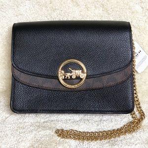 Coach Crossbody Signature Canvas Medium Handbag